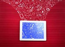 Internet communication Royalty Free Stock Photo