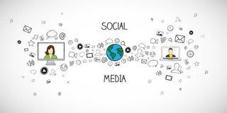 Internet communication Royalty Free Stock Images