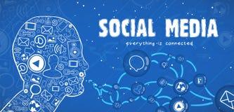 Internet communication Stock Photography