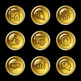Internet communication web icons Stock Photo