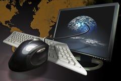 Internet  communications Stock Image