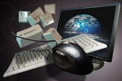 Internet Communications Royalty Free Stock Photography