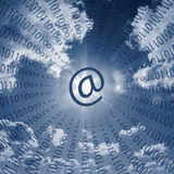Internet communications Stock Images