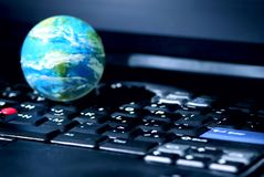Internet computer business global Stock Images
