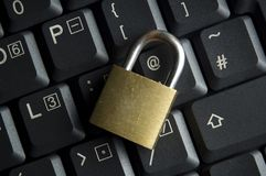 Internet and Computer Security Stock Photo