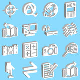 Internet and Computing Icons Royalty Free Stock Image