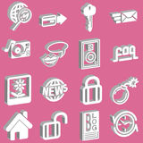 Internet and Computing Icons Stock Photo