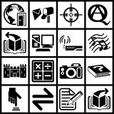 Internet and Computing Icons Royalty Free Stock Images