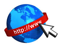 Internet concept Royalty Free Stock Image