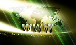Internet concept Royalty Free Stock Photo
