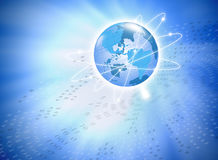 Internet Concept. Internet Concept of global business Royalty Free Stock Photo
