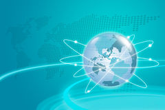 Internet Concept. Internet Concept of global business Stock Photo