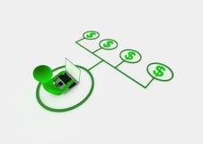 Internet concept Royalty Free Stock Photos
