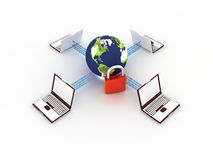 Internet concept Royalty Free Stock Photography