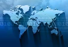 Internet Concept Background Stock Image