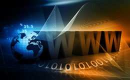 Internet concept background Royalty Free Stock Photo