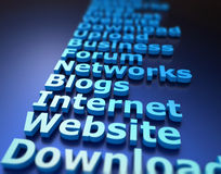 Internet concept Stock Images