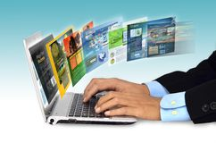 Internet Concept Stock Photography