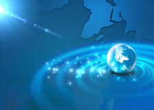 Internet Concept of global. Network Stock Photo