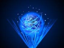 Internet Concept of global business.  royalty free illustration