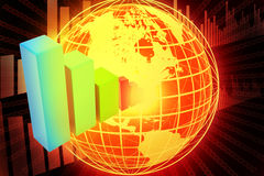 Internet Concept of global business Royalty Free Stock Photo