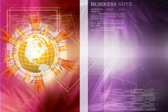 Internet Concept of global business Stock Photos