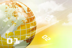 Internet Concept of global business Stock Photo