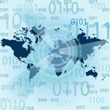 Internet Concept of global business Stock Images