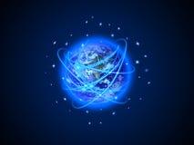Internet-Concept globale zaken Royalty-vrije Stock Afbeelding