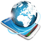 Internet concept illustration Royalty Free Stock Images