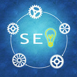 Search Engine Optimization & business success Stock Photography