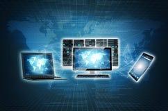 Internet Connection Equipment stock illustration