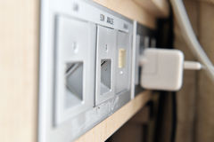Internet connection panels Stock Photos
