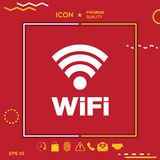 Internet connection symbol icon Stock Image