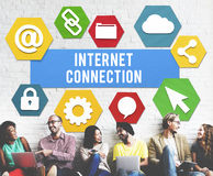 Internet Connection Technology Information Concept royalty free stock photo