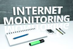 Internet-Controle Royalty-vrije Stock Fotografie