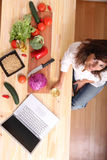Internet Cooking Royalty Free Stock Images