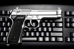Internet crime Stock Photo