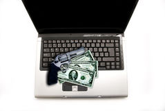 Internet crime Stock Photo