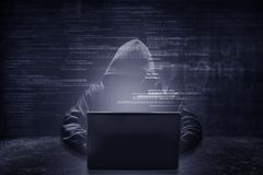 Internet crime concept. royalty free stock images