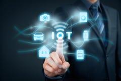 Internet das coisas IoT Imagens de Stock