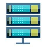 Internet data center server Royalty Free Stock Image