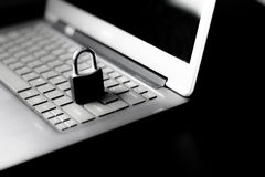Internet and data security Stock Images
