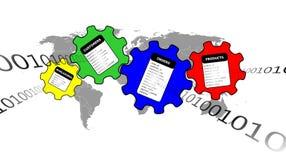Internet Database Royalty Free Stock Images