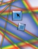 Internet-Datenbahn Stockbild