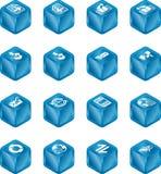 Internet-Datenbanksuchroutine und eMail Cub Stockfotos