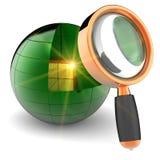 Internet-Datenrecherche Lizenzfreie Stockfotografie