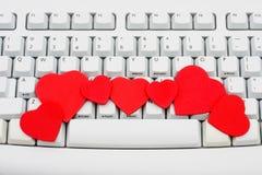 Internet-Datierung stockfoto