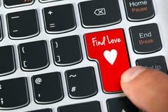 Internet-Datierung Stockfotos