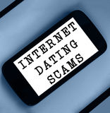 Internet Dating Scam Royalty Free Stock Photography